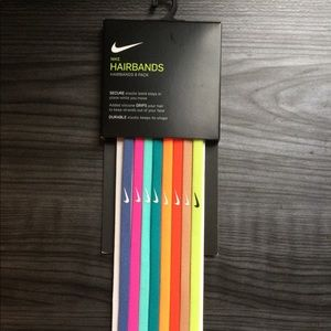 New With Tags Unisex Nike Hairbands